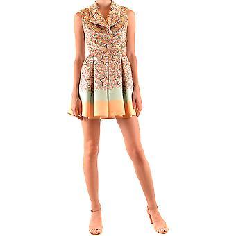 Elisabetta Franchi Ezbc050200 Frauen's Multicolor Polyester Kleid