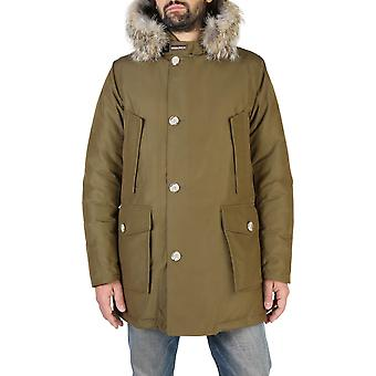 Woolrich Original Men Fall/Winter Jacket - Green Color 38141