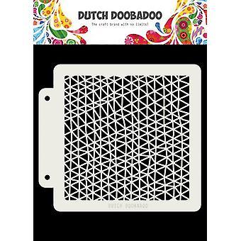 Néerlandais Doobadoo Néerlandais Masque Art Triangle vague 163x148mm 470.715.143