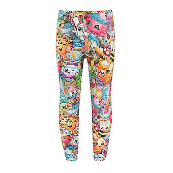 Shopkins Collage Mädchen's Leggings
