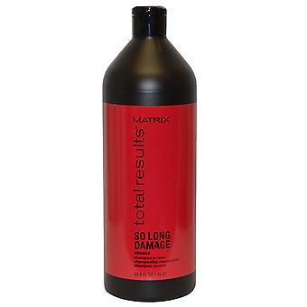 Matrix samlede resultater Shampoo så længe skader ceramid 1000ml reparere dit hår