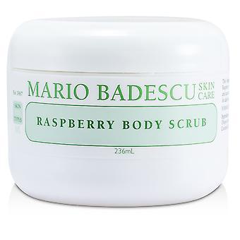 Raspberry body scrub for all skin types 177267 236ml/8oz