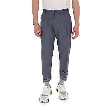 Corelate 263a202684 Men's Grey Cotton Pants