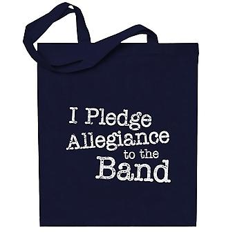 School Of Rock I Pledge Allegiance To The Band Totebag