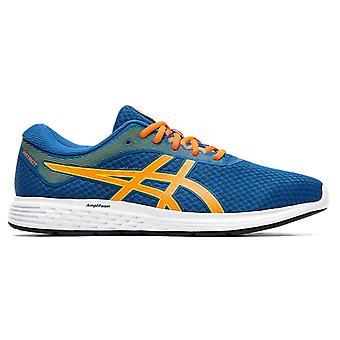 Asics Patriot 11 Hommes Running Exercice Fitness Trainer Chaussure bleue/orange