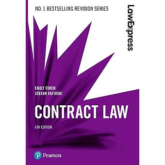 Law Express Contract Law 6th edition by Stefan Fafinski