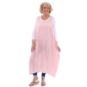 Made In Italy Holkham 2 Linen Tunic Dress