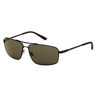 Sonnenbrillen Herren grau mit grüner Linse (9050 P)