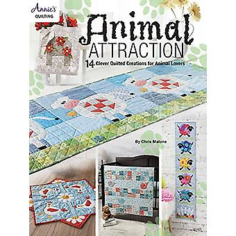 Animal Attraction - 14 Clever Quilted Creations for Animal Lovers by C