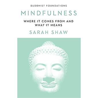 Mindfulness - Where It Comes From and What It Means by Sarah Shaw - 97