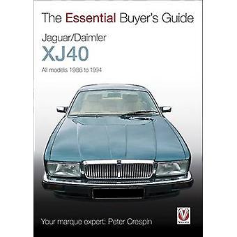 Jaguar XJ40 by Peter Crespin - 9781845841928 Book