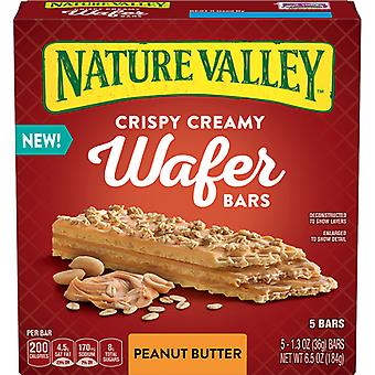 Nature Valley crocante crema Wafer baruri unt de arahide