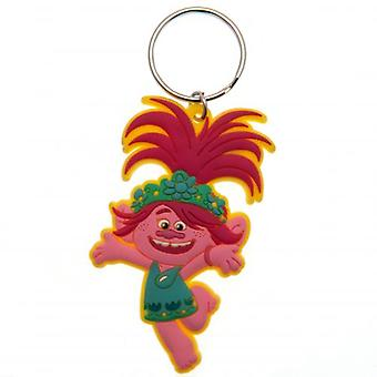 Trolls World Tour PVC Keyring Poppy