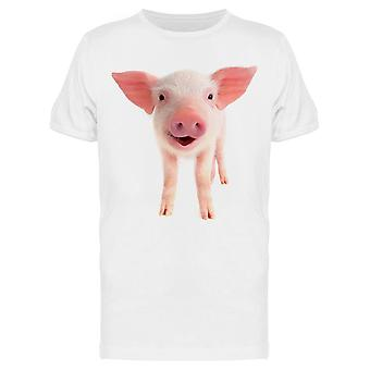 Smile Pig  Tee Men's -Image by Shutterstock