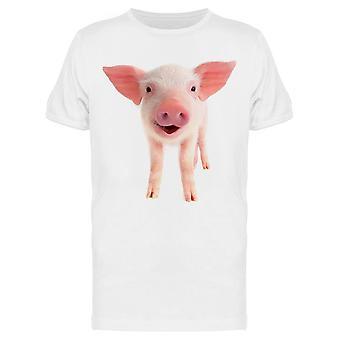 Smile Pig Tee Menn's -Bilde av Shutterstock