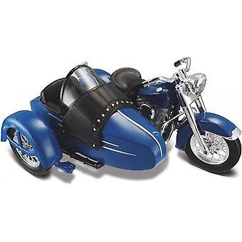 Maisto Harley Davidson 1952 Hydra Glide Sidecar Sininen 1:18