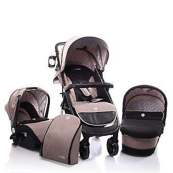 Cangaroo combi stroller Noble 3 in 1 baby carrier, baby bath, sports seat foldable