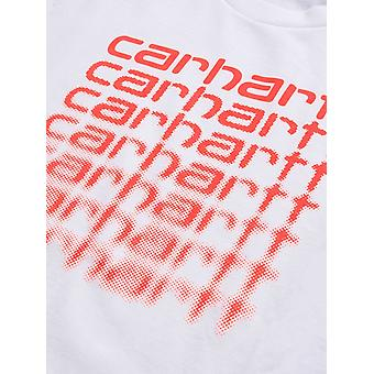 Carhartt WIP Neon Fading T-Shirt - White-S