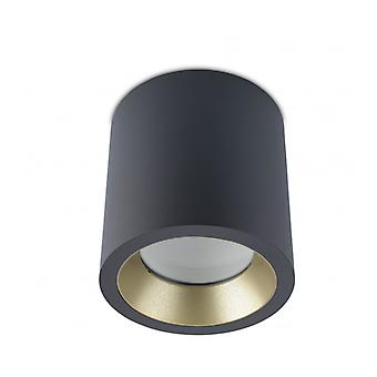 Ceiling Light Led 3000k Cosmos, Aluminum And Glass, Urban Gray