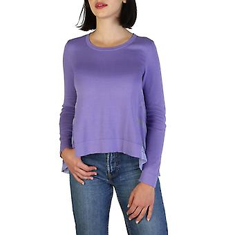 Woman long round neckline sweater aj62807