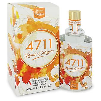 4711 Remix van 4711 Eau de Cologne Spray (unisex 2018) 3,4 oz/100 ml (mannen)