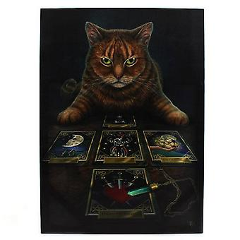 Lisa Parker The Reader Tabby Cat Canvas