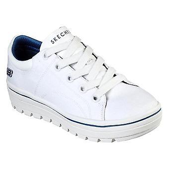 Skechers Street Cleats Bring IT Back 74100WHT uniwersalne przez cały rok damskie buty
