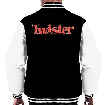 Twister Faded Red Logo Men's Varsity Jacket