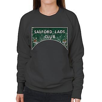 Club de Salford muchachos signo color sudadera mujer