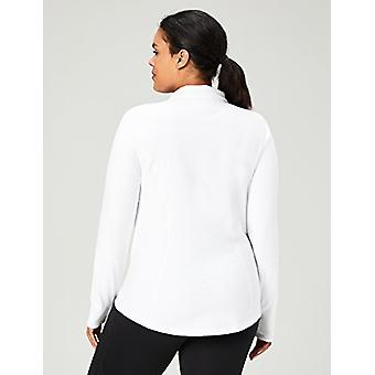 Core 10 Women's Icon Series - The Ballerina Plus Size Fitted Full-Zip Jacket,...