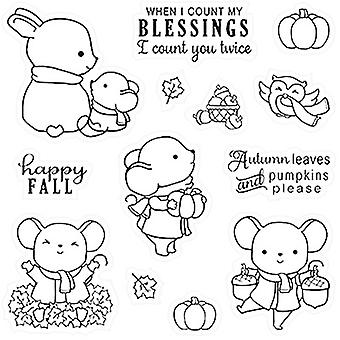 LDRS Creative Clear Stamps - Happy Fall