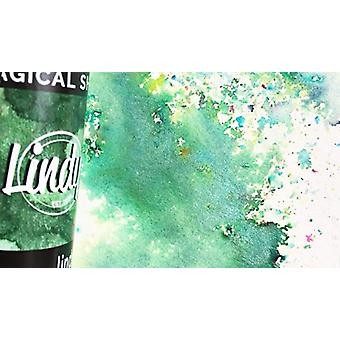 Lindy-apos;s Stamp Gang Cathedral Pines Green Magical Shaker