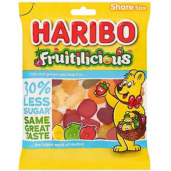HARIBO Fruitilicious Share Bag, 135g bag