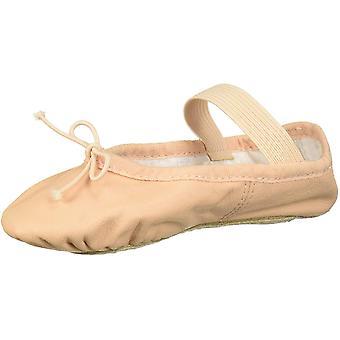 Bloch Dame&s Sko lær ballett tøffel Skinn Lav Topp Strikk
