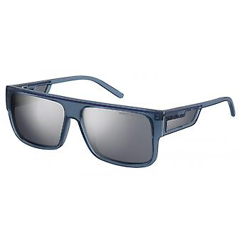 Sunglasses Men's Rectangular Blue/Grey