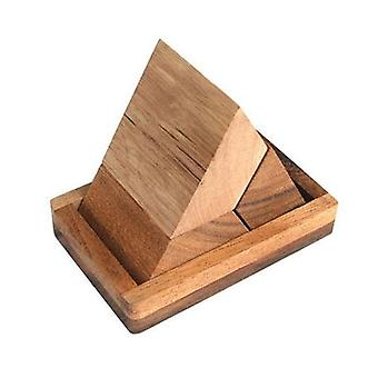 Pyramid Puzzle 3 Pcs With Base