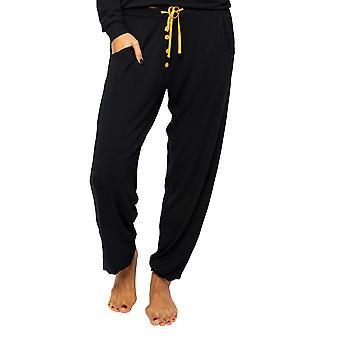 Cyberjammies Poppy 4601 Frauen's Schwarz stricken Pyjama Hose