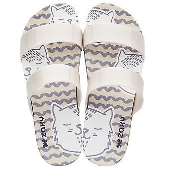 Womens Zaxy Sandals Share Cat Beach Sandals - Ivory