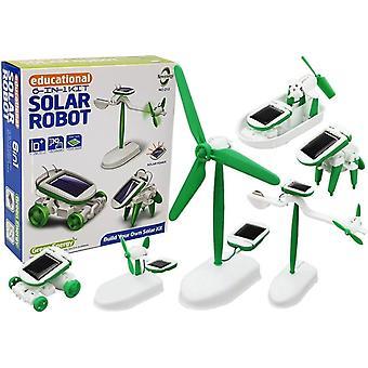 Technisches Spielzeug - Solarroboter - 6-in-1