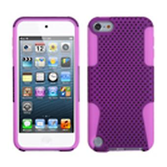 Asmyna Astronoot Étui pour Apple iPod Touch 5th Gen - Purple/Electric Pink