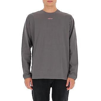 Ambush Bmab008f20jer0010730 Men's Grey Cotton Sweatshirt