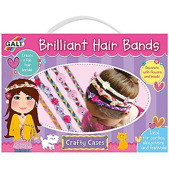 Galt lysande hår band