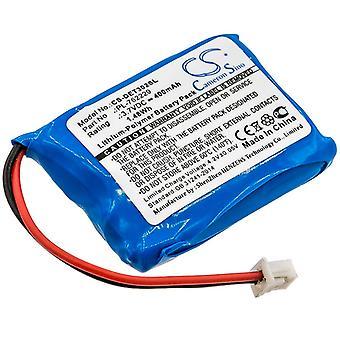 Battery for Educator PL-762229 V2015-E05 Receiver ET-300 Transmitter ET-300TS