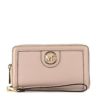 MICHAEL Michael Kors Samira Lg Flat Multifunctional Phone Case Soft Pink