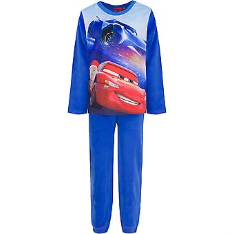 Disney cars boys velvet velour pyjama set
