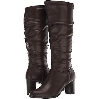 شارع السهل النسائي تيسلا جولة إصبع القدم أحذية أزياء العجل منتصف