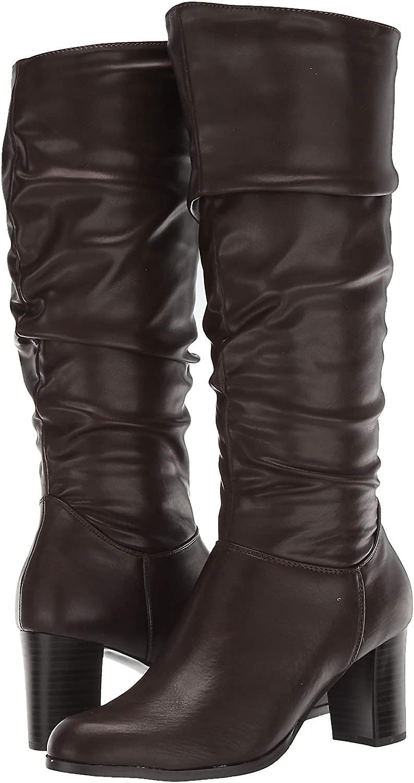 Easy Street Womens Tessla Round Toe Mid-Calf Fashion Boots