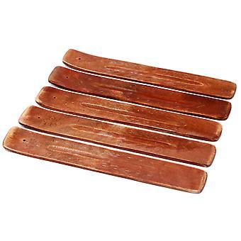 Ashcatcher en bois de mangue sculpté 10-apos;apos; X 1