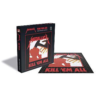 Metallica - kill em all album cover 500pc puzzle