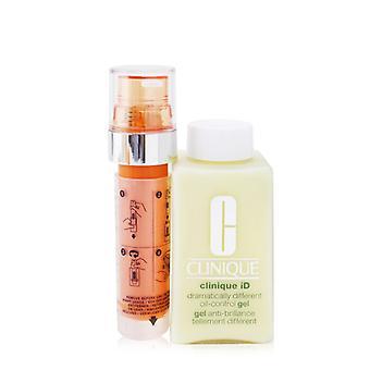 Clinique Id dramatisch verschillende olie-controle gel + actieve cartridge concentraat voor vermoeidheid - 125ml/4.2oz
